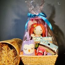 Organic and Natural Toy Hamper
